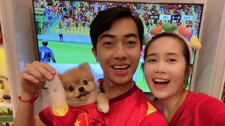 Ngàn lẻ một phong cách cổ vũ bóng đá của sao Việt
