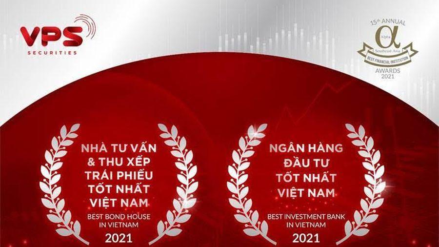 VPS nhận cú đúp giải thưởng Nhà tư vấn và thu xếp trái phiếu tốt nhất Việt Nam và Ngân hàng Đầu tư tốt nhất Việt Nam 2021