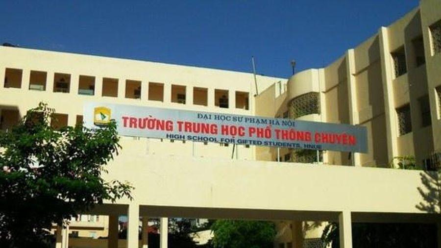 Đề thi Toán vòng 2 vào trường THPT chuyên ĐH Sư phạm Hà Nội