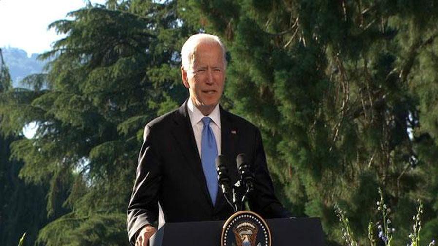 Tổng thống Biden tuyên bố chương trình nghị sự của Mỹ không nhằm chống Nga