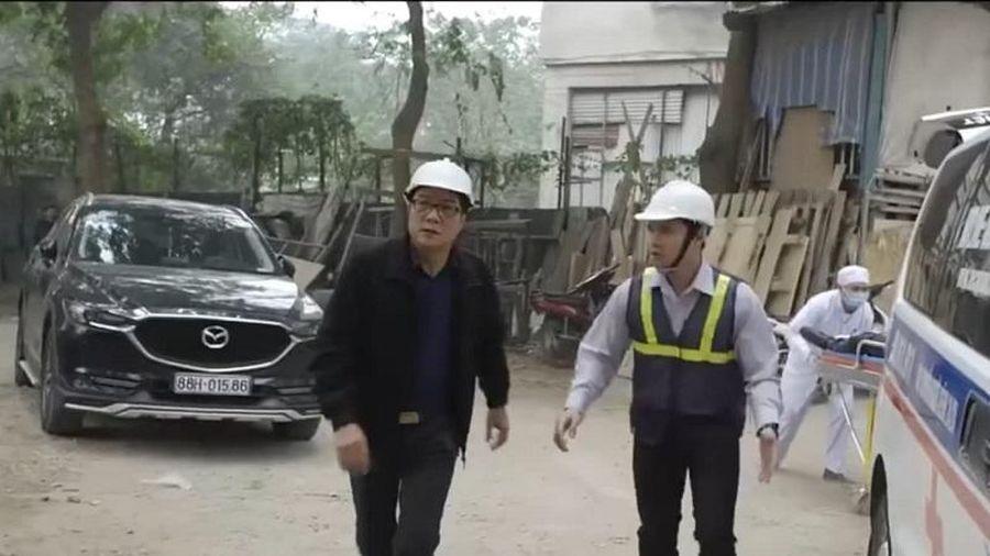 'Hãy nói lời yêu' tập 20: Ông Tín gặp tai họa vì công trình xây dựng bị đổ sập