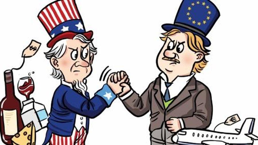 Nông sản EU vui mừng vì thỏa thuận đình chiến 5 năm với Mỹ
