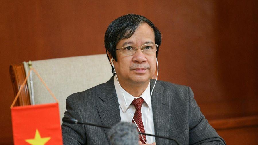 Hội nghị Hội đồng Bộ trưởng Giáo dục Đông Nam Á lần thứ 51 qua trực tuyến