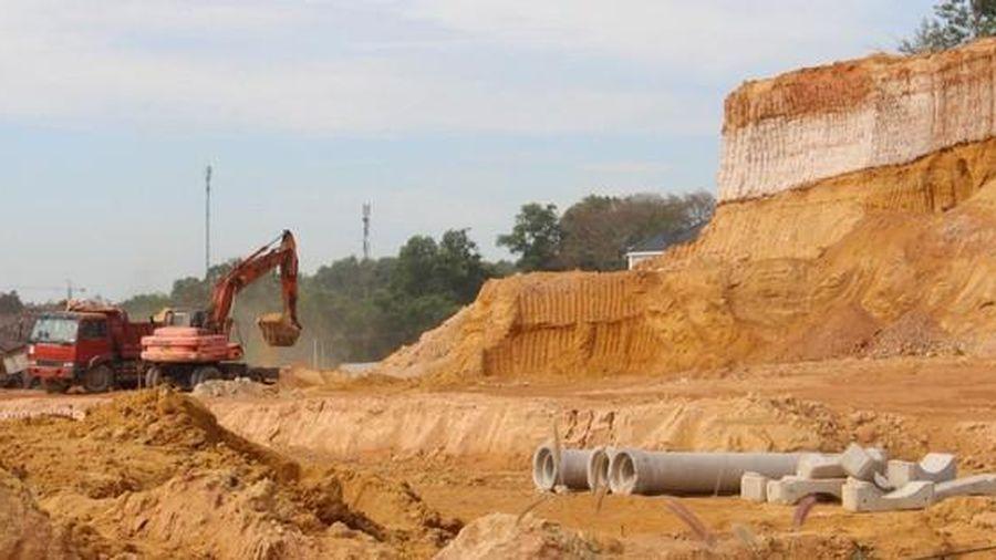Gỡ vướng nguồn vật liệu xây dựng cao tốc Bắc - Nam