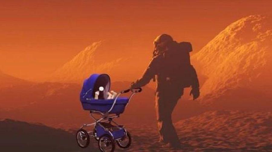 Con người có thể sinh con trên sao Hỏa vì tinh trùng có thể tồn tại tới 200 năm ở đây