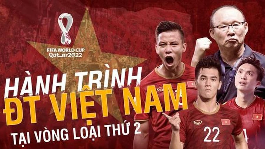 Hành trình lịch sử của đội tuyển Việt Nam tại vòng loại World Cup 2022
