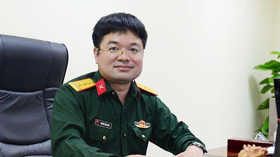 Đại tá Nguyễn Văn Minh, nhà báo 'bút chiến' trên mạng