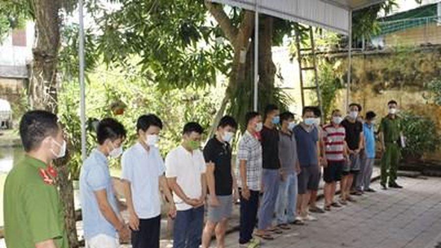 Nghệ An: Triệt xóa đường dây cá độ bóng đá nghìn tỉ đồng