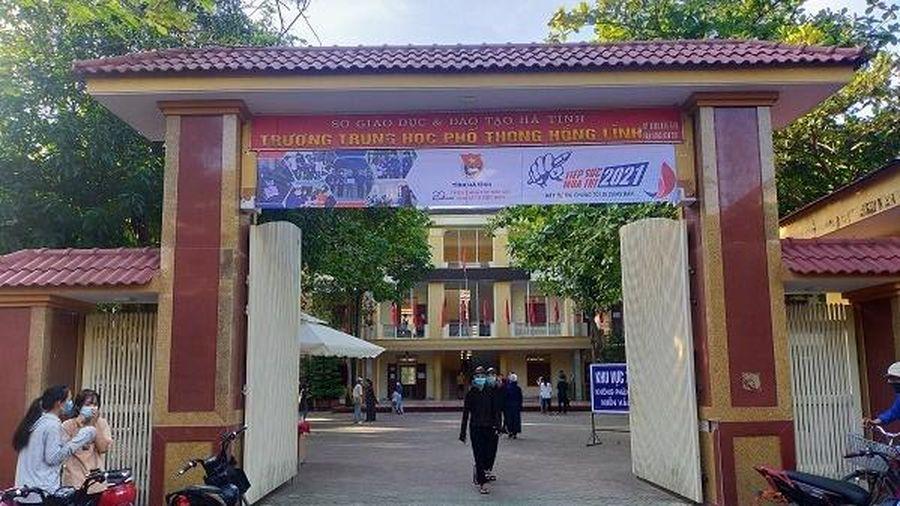 Hà Tĩnh công bố điểm thi vào lớp 10 THPT năm học 2021-2022