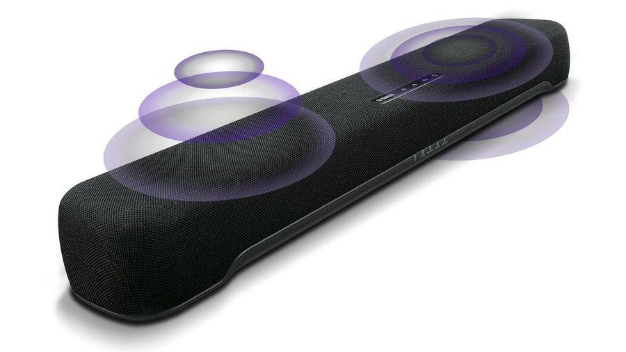 Yamaha SR-C20A - Soundbar siêu nhỏ gọn, tích hợp subwoofer, 4 mode trình diễn, giá chỉ 6 triệu