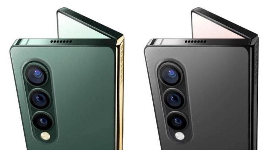 Lộ bản concept Samsung Galaxy Z Fold 3 với thiết kế cạnh phẳng