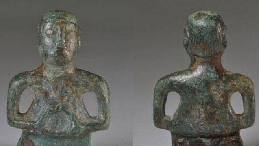 Bí ẩn bức tượng đồng khiến nhà khảo cổ 'đau đầu' tìm câu trả lời