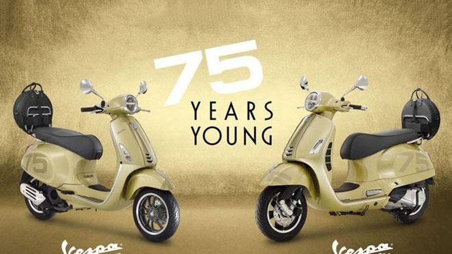 Ngắm Vespa Primavera 150 i-Get ABS 75th Anniversary và GTS 300 HPE 755 Aniversary, giá từ 118 triệu