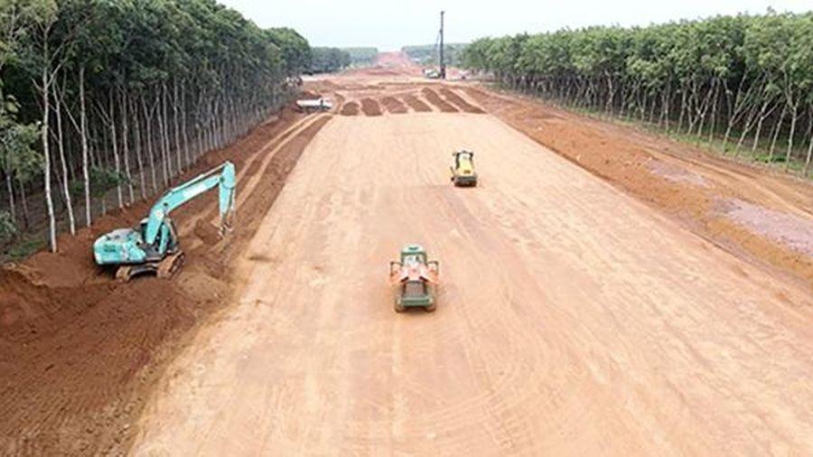 Áp dụng cơ chế đặc thù để giải quyết tình trạng thiếu vật liệu thi công tuyến cao tốc Bắc - Nam