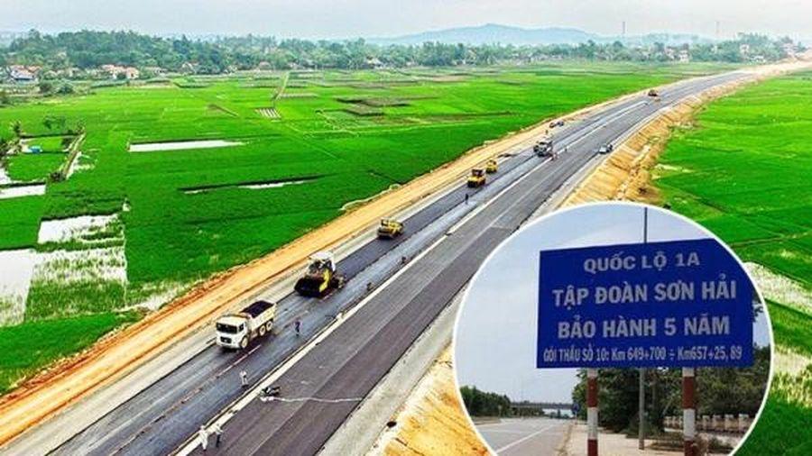 Liên danh Sơn Hải - Đèo Cả trúng gòi thầu hơn 1.150 tỷ làm cao tốc Bắc - Nam