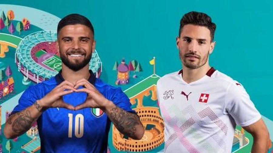 Italia - Thụy Sĩ: Tấn công dồn dập, Azzurri giành thắng lợi dễ dàng với 2 siêu phẩm | EURO 2020