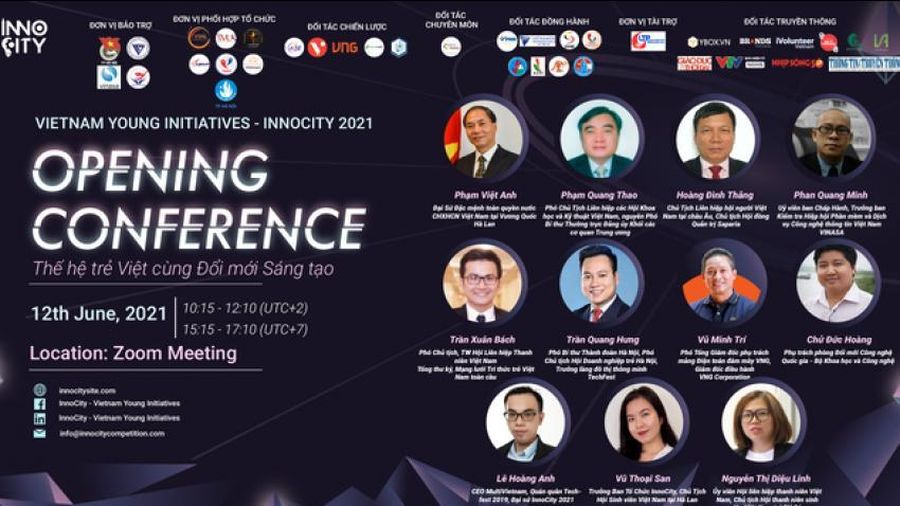InnoCity 2021 - Diễn đàn Sáng kiến trẻ Việt Nam toàn châu Âu