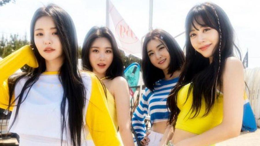 'Nữ hoàng mùa hè' Brave Girls trở lại đường đua âm nhạc Kpop với 'Chi Mat Ba Ram'