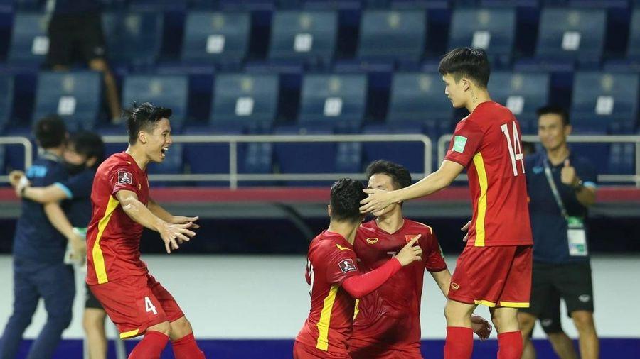 ĐT Việt Nam nhận lời chúc mừng từ Liên đoàn bóng đá Đông Nam Á