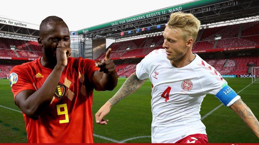 TRỰC TIẾP Đan Mạch - Bỉ: Lukaku và đồng đội giành vé đi tiếp?