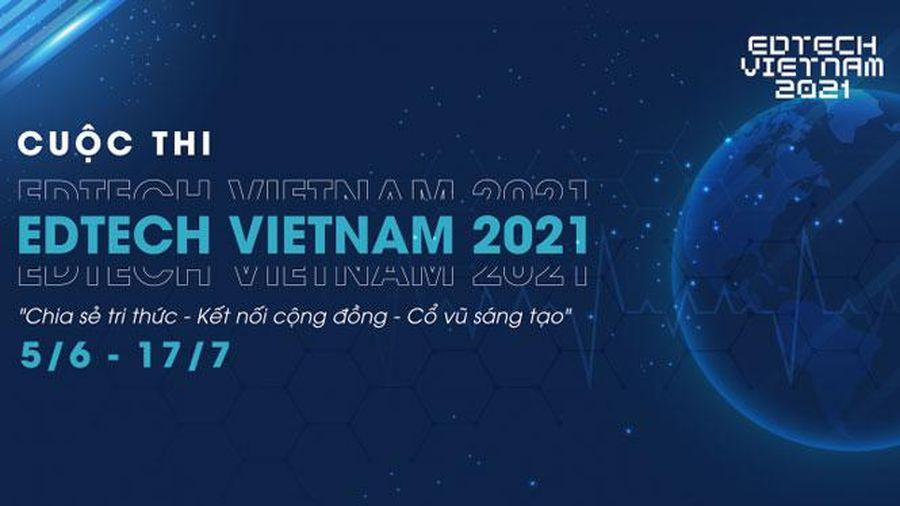 Cuộc thi tìm kiếm ngôi sao khởi nghiệp Edtech Vietnam 2021
