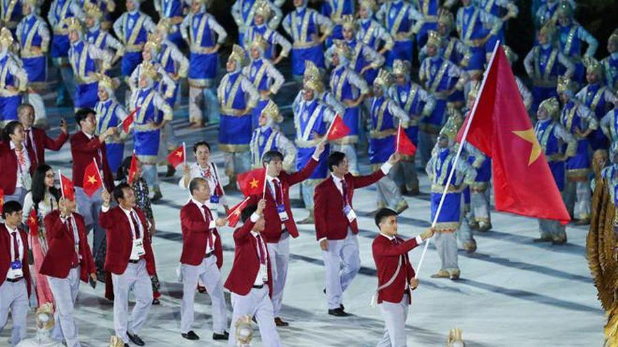 Đoàn thể thao Việt Nam tham dự Olympic Tokyo 2020 có 38 thành viên