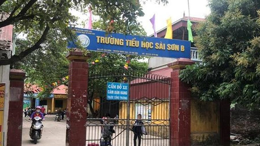 Hàng loạt sai phạm tại Trường tiểu học Sài Sơn B: Yêu cầu xử lý kỷ luật Hiệu trưởng