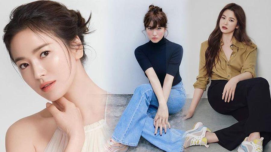 Song Hye Kyo khiến antifan cũng phải choáng váng khi bao lần ăn diện sang xịn 'ăn đứt' mẫu hãng