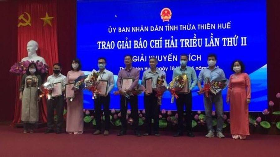 26 tác phẩm đoạt Giải Báo chí Hải Triều lần thứ II - 2021