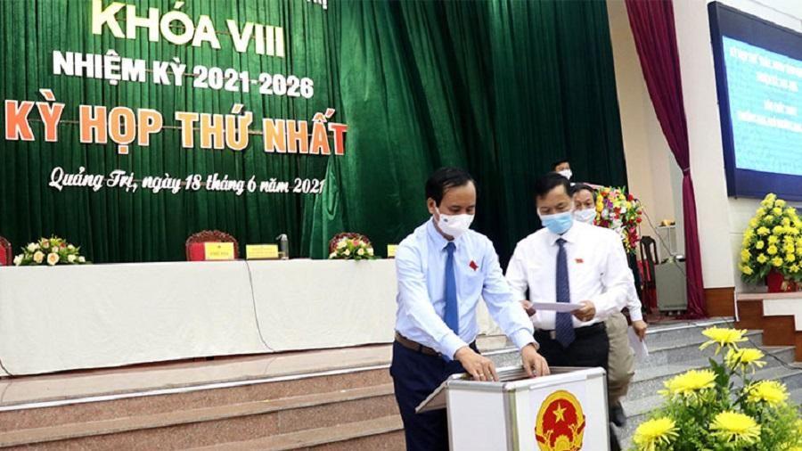 Quảng Trị bầu lãnh đạo HĐND, UBND nhiệm kỳ 2021-2026