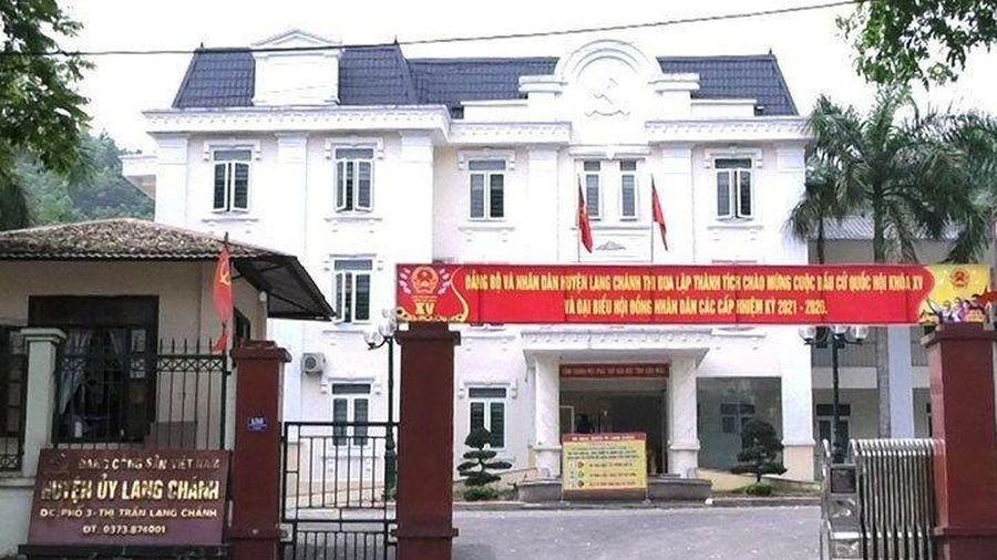 Chủ nhiệm UBKT Huyện ủy bị cách hết chức vụ