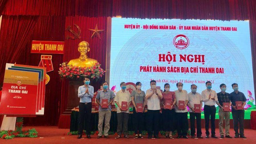 Huyện Thanh Oai phát hành sách Địa chí Thanh Oai