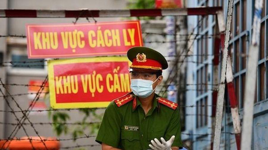 TP Hồ Chí Minh: Phong tỏa tạm thời UBND phường An Lạc vì ca nghi mắc Covid-19
