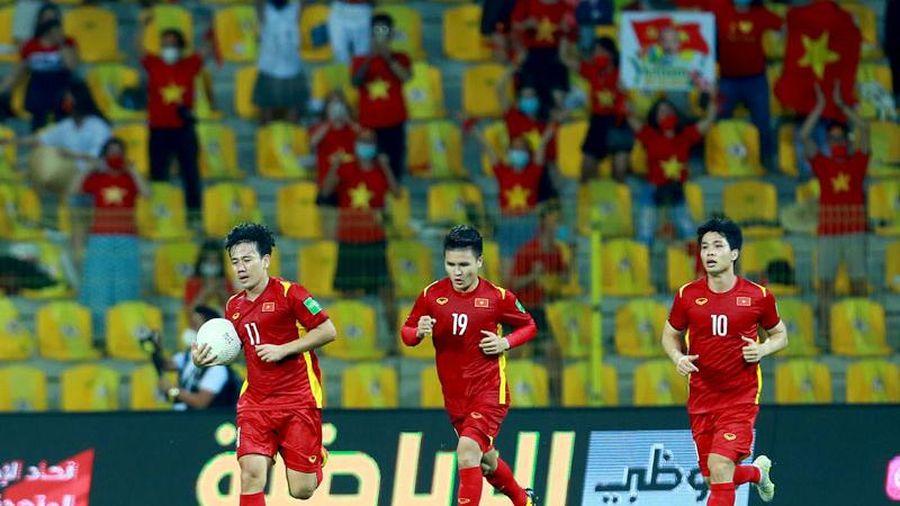 Bộ trưởng Văn hóa, Thể thao và Du lịch chúc mừng đội tuyển Việt Nam