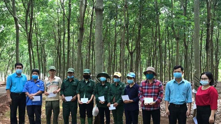 Cao-su Đồng Nai chăm lo đời sống công nhân lao động