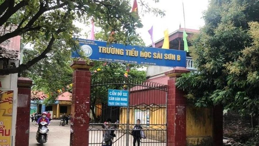 Công bố kết luận thanh tra Trường tiểu học Sài Sơn B, huyện Quốc Oai