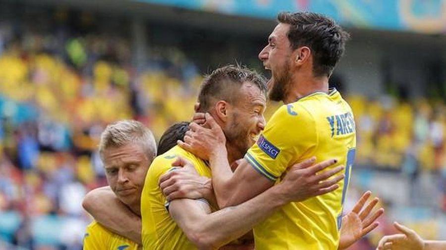 'Song sát' Ukraine lập kỷ lục chưa từng có ở EURO