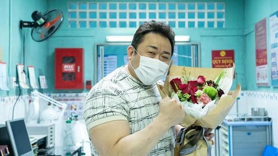 'Bom tấn' của tài tử Ma Dong Seok có cảnh trong bệnh viện Việt Nam