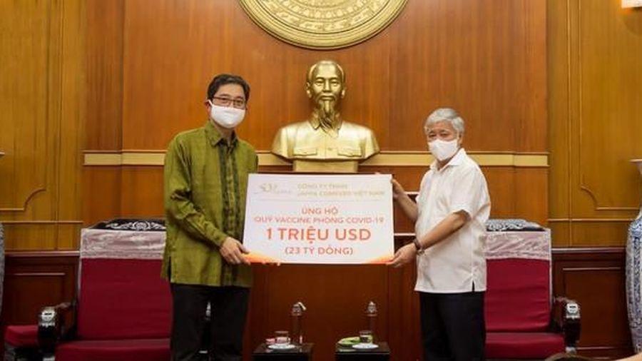 Japfa ủng hộ 1 triệu USD vào quỹ Vaccine phòng chống COVID-19