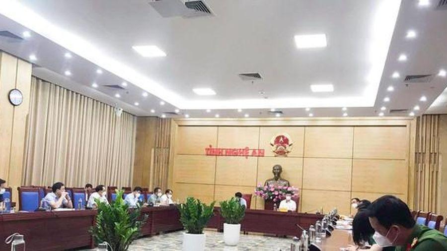 Nghệ An quyết định cách ly xã hội toàn thành phố Vinh vào 0 giờ ngày 19/6