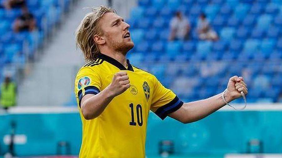 Thụy Điển 1-0 Slovakia: Forsberg giúp đại diện Bắc Âu nắm lợi thế