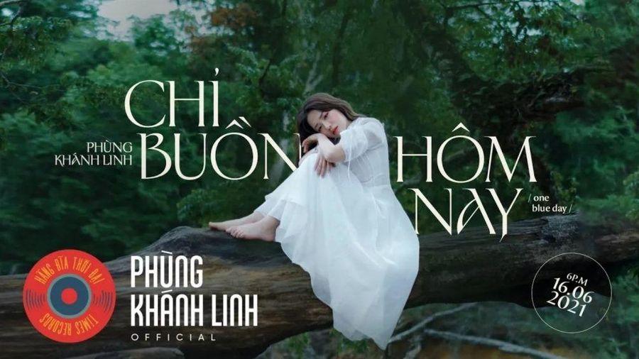 Phùng Khánh Linh ngâm mình dưới suối lạnh để quay MV