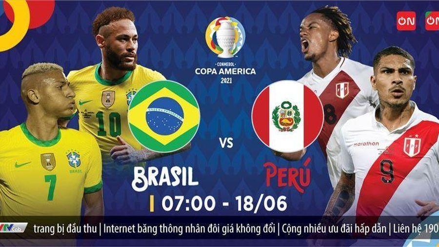 Trực tiếp Brazil vs Peru: Tiếp nữa đi, Neymar!