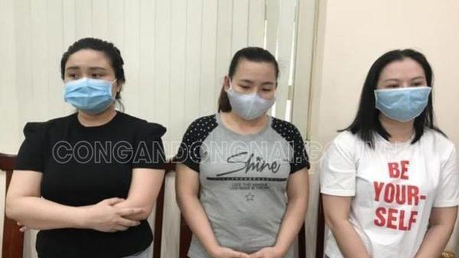 Ba 'nữ quái' ở Đồng Nai mở văn phòng công chứng giả để lừa đảo
