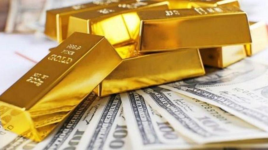 Giá vàng thế giới đang lao dốc không phanh