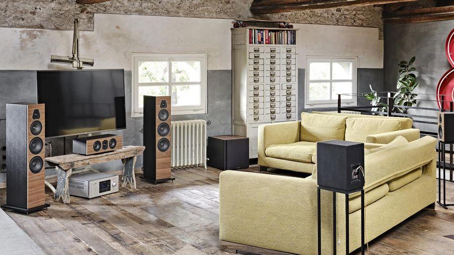 Sonus Faber Lumina V & II mới giúp set-up hệ thống home theater chuẩn hi-end với chi phí ấn tượng