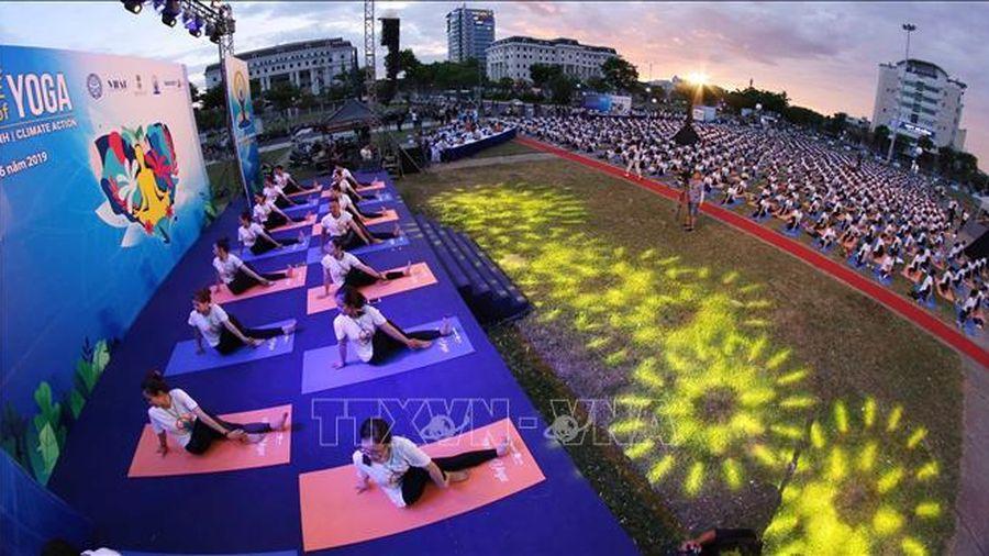 Cùng tập Yoga, cùng ở nhà