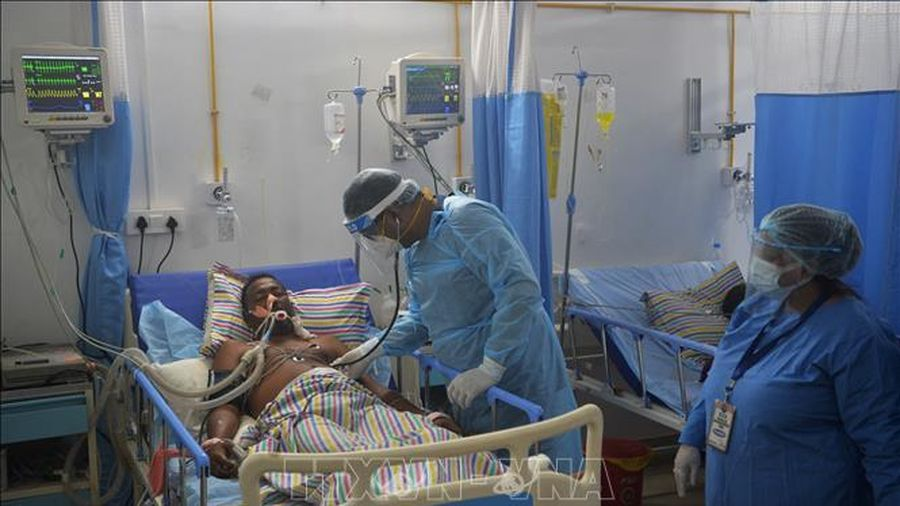 Ấn Độ triển khai khóa huấn luyện y tế cho các nhân viên tuyến đầu