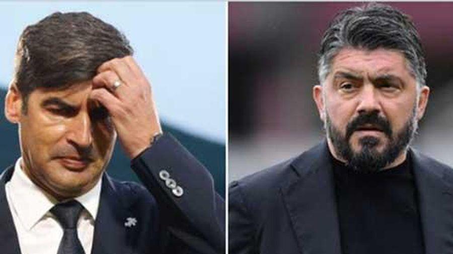Tottenham không bổ nhiệm Fonseca, đàm phán với Gattuso