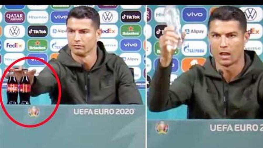 UEFA 'nắn gân' các đội tuyển sau sự việc Ronaldo tẩy chay nhà tài trợ
